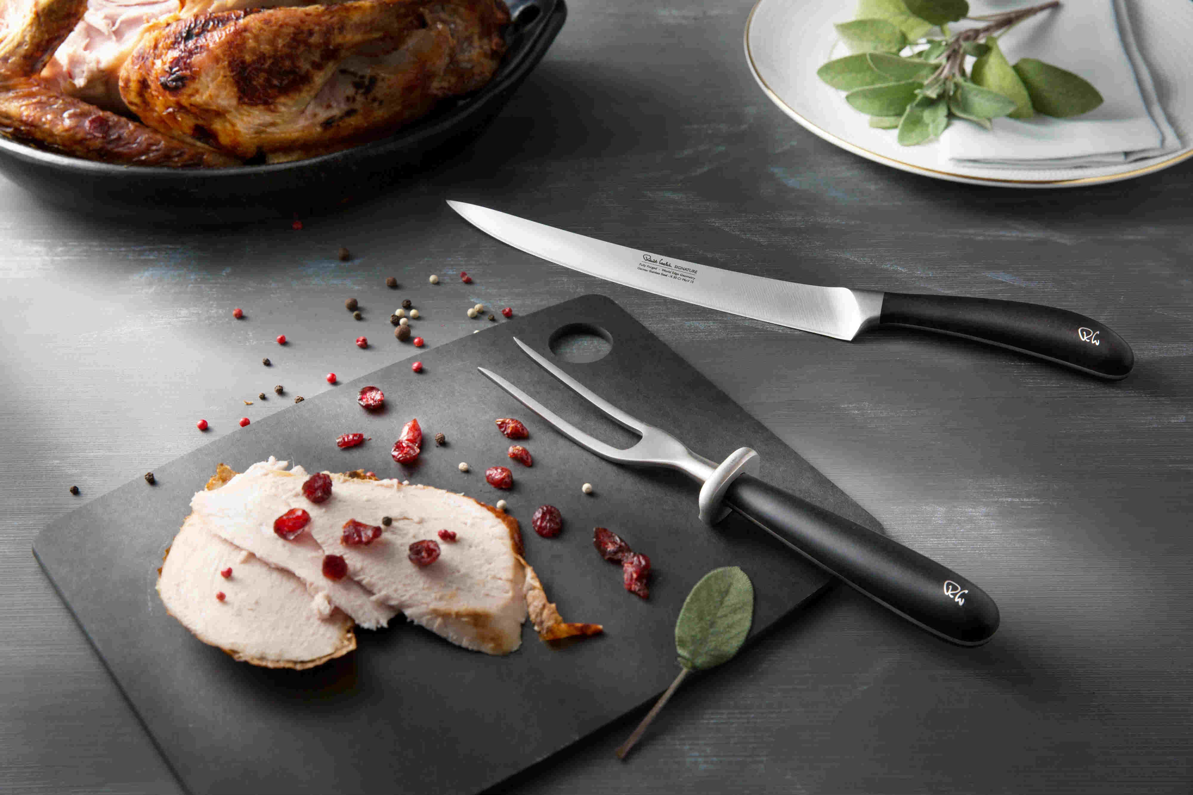 Multi award-winning designs - Robert Welch Cutlery and Kitchen Knives. Some Limited Edition sets on special offer while stocks last.